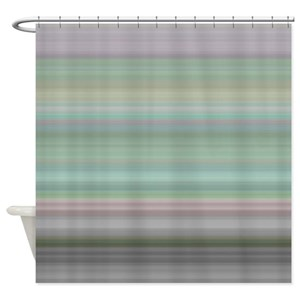 Funky Green Shower Curtains