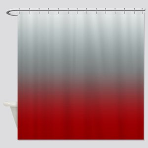 Highlights of Reds Shower Curtain
