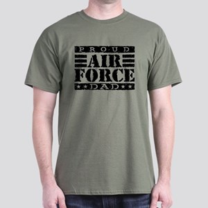 Proud Air Force Dad Dark T-Shirt