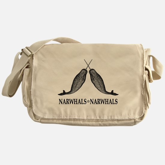Narwhals Messenger Bag