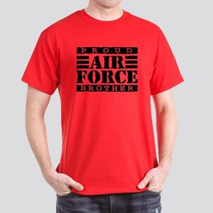 Proud Air Force Brother Dark T-Shirt