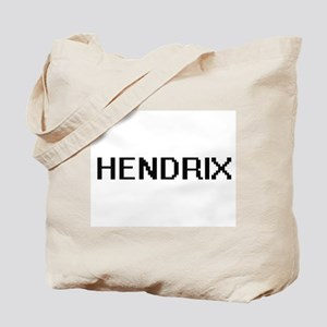 Hendrix digital retro design Tote Bag