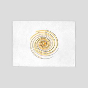 Pi Swirl 5'x7'Area Rug