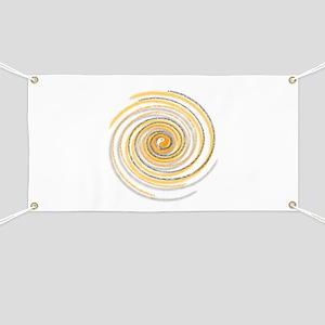 Pi Swirl Banner
