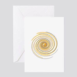 Pi Swirl Greeting Card