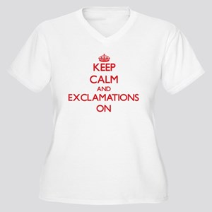 EXCLAMATIONS Plus Size T-Shirt