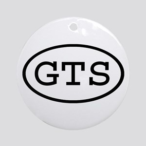 GTS Oval Ornament (Round)