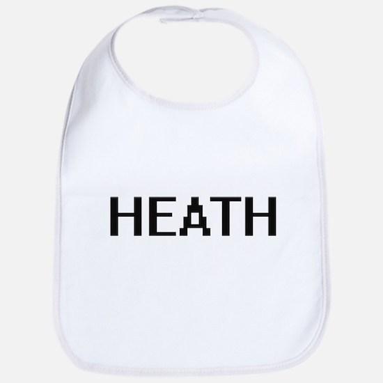 Heath digital retro design Bib