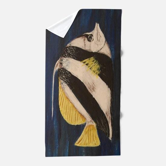 Bannerfish Beach Towel