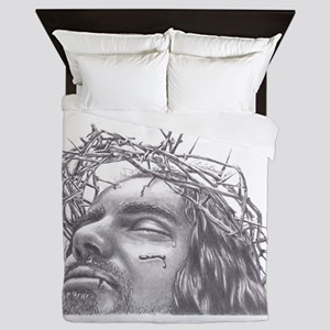 Crown of Thorns Queen Duvet