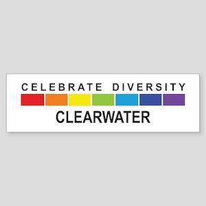 CLEARWATER - Celebrate Divers Bumper Sticker