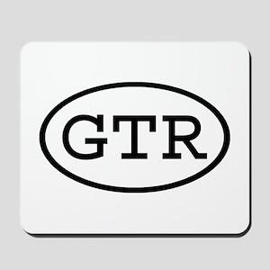 GTR Oval Mousepad