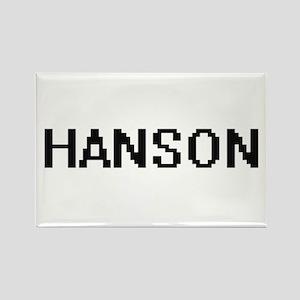 Hanson digital retro design Magnets