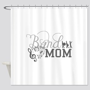 Band Mom Shower Curtain