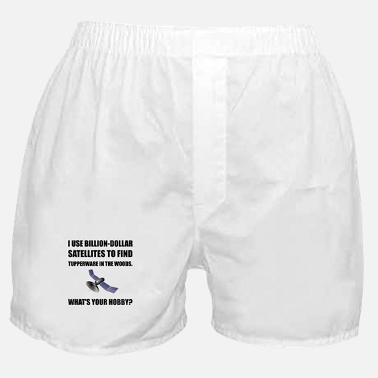GeoCache Satellites Boxer Shorts