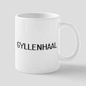 Gyllenhaal digital retro design Mugs