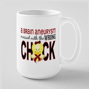 Brain Aneurysm MessedWithWrongChick1 Large Mug