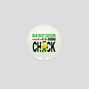 Bile Duct Cancer MessedWithWrongChick1 Mini Button