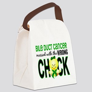 Bile Duct Cancer MessedWithWrongC Canvas Lunch Bag