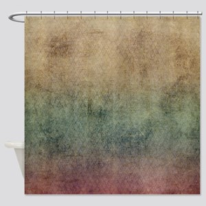 Brown Tones Shower Curtain