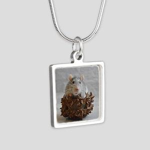 Little Rat in Basket Necklaces