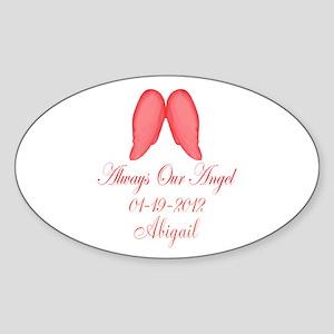 Pink Always Our Angel Sticker