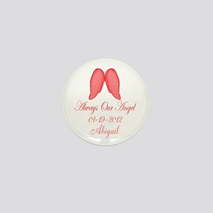 Pink Always Our Angel Mini Button