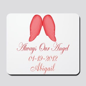 Pink Always Our Angel Mousepad