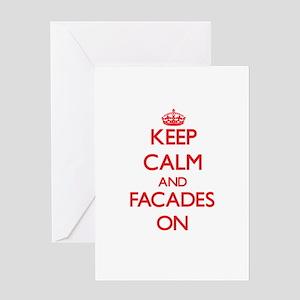 Facades Greeting Cards