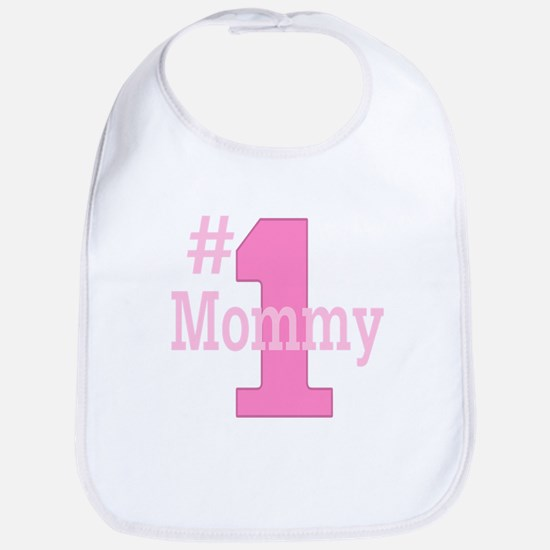 Number One Mommy Bib