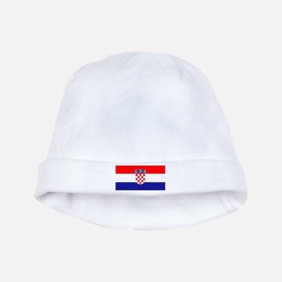 Croatia Flag Baby Hat