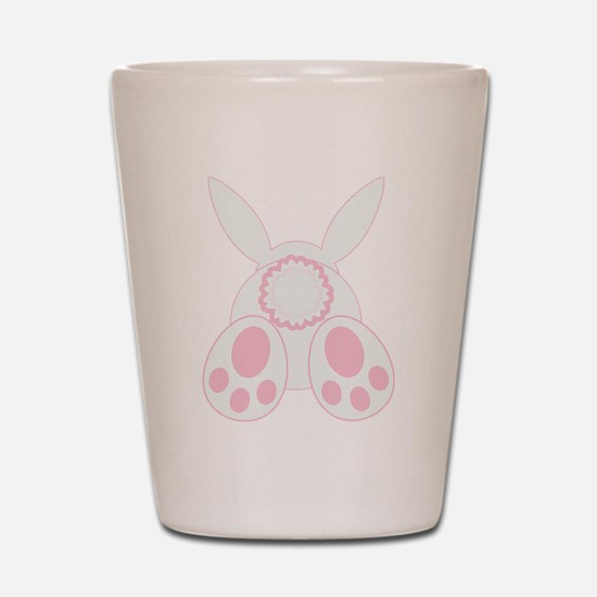 Bunny Back Shot Glass