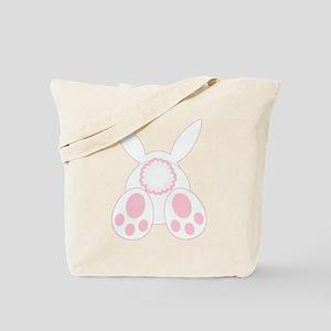 Bunny Back Tote Bag