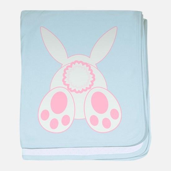 Bunny Back baby blanket