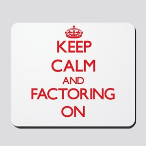 Factoring Mousepad