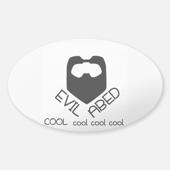 Evil Abed Decal