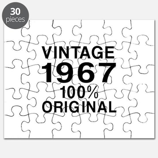 Vintage 1967 Birthday Designs Puzzle