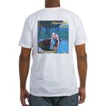 Tigerman Fitted-T Logo-Front, Art-Back