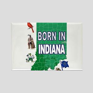 INDIANA BORN Magnets