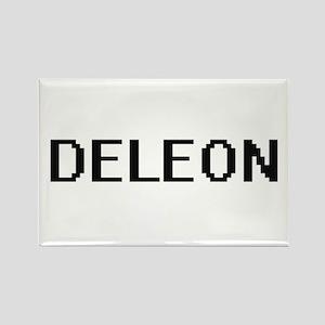 Deleon digital retro design Magnets