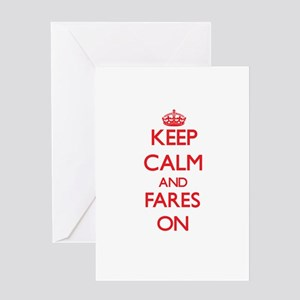 Fares Greeting Cards