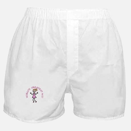 Worlds Greatest Kid Boxer Shorts
