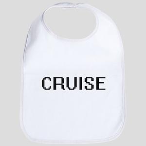 Cruise digital retro design Bib