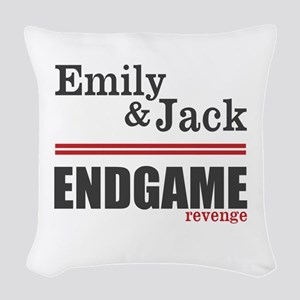 Emily And Jack Woven Throw Pillow