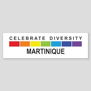 MARTINIQUE - Celebrate Divers Bumper Sticker