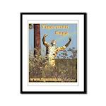 Tigerman Saga Framed Panel Print