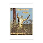 Tigerman Mini Poster Print