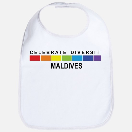 MALDIVES - Celebrate Diversit Bib