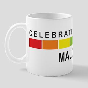 MALDIVES - Celebrate Diversit Mug