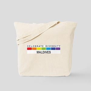 MALDIVES - Celebrate Diversit Tote Bag
